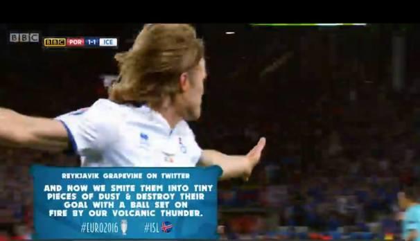 football grapevine tweet on BBC Euro 2016