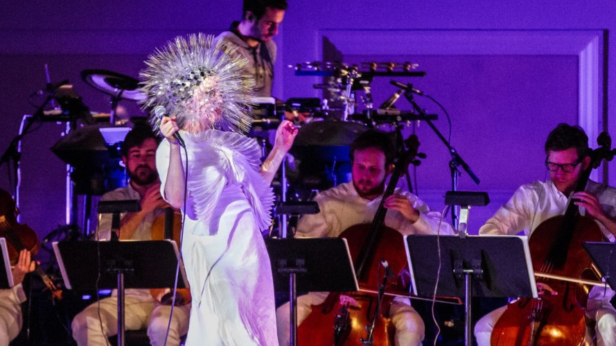 Hold On To Your Visa Cards… Björk Is Playing Airwaves