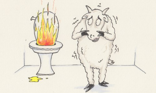 May Your Urine Burn, You Cowardly Goat!