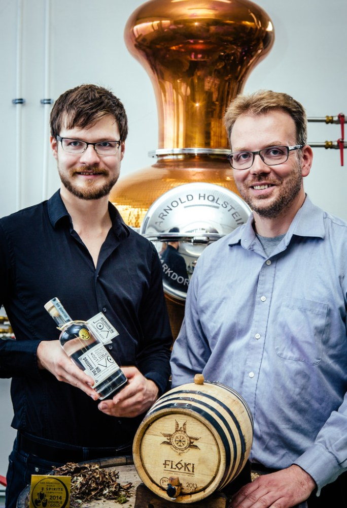 Eimverk's Whisky Matures, Its Gin Blossoms