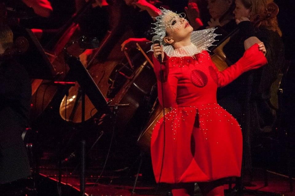 PHOTOS: Björk Brings Vulnicura To Harpa