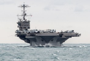 Reykjavík Law Broken By US Aircraft Carrier