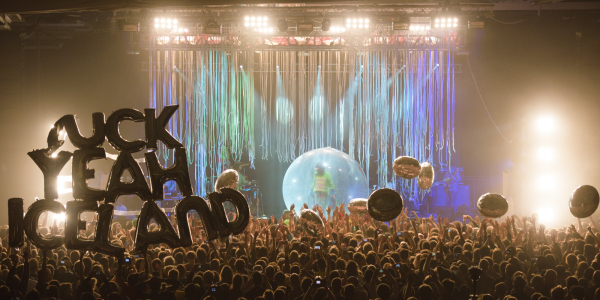 The Flaming Lips In Concert - Iceland Airwaves Music Festival 2014