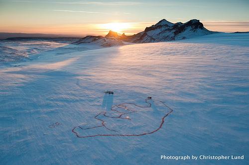 Polar Bear Sighted On Langjökull