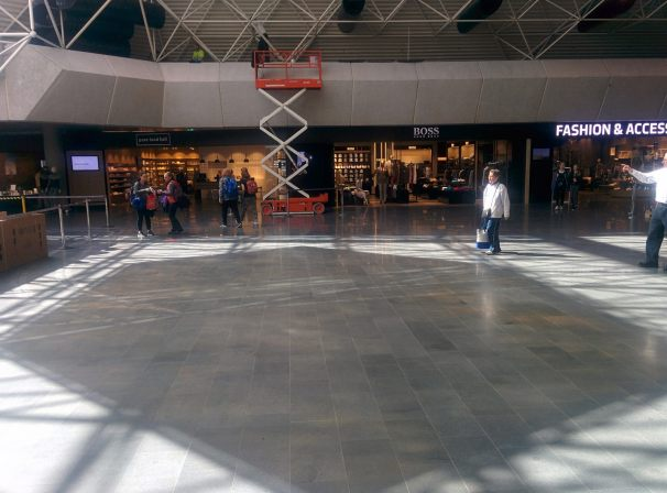 Have You Noticed The Mess They Have Made Of The Airport Renovations? -Kevin Quigley