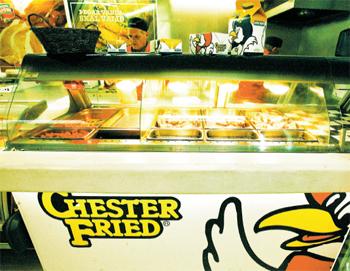 BEZT Í HEIMI: Chester fried chicken