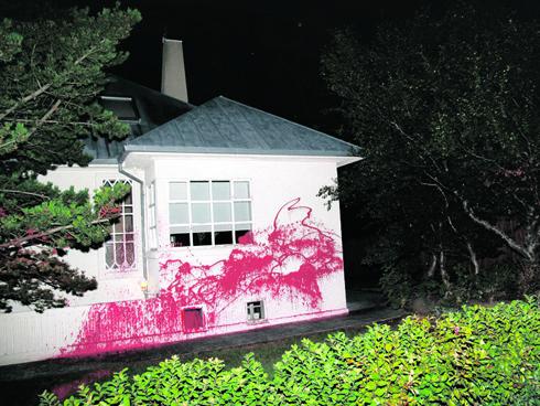 Paint-Splashing Activists Come Forward