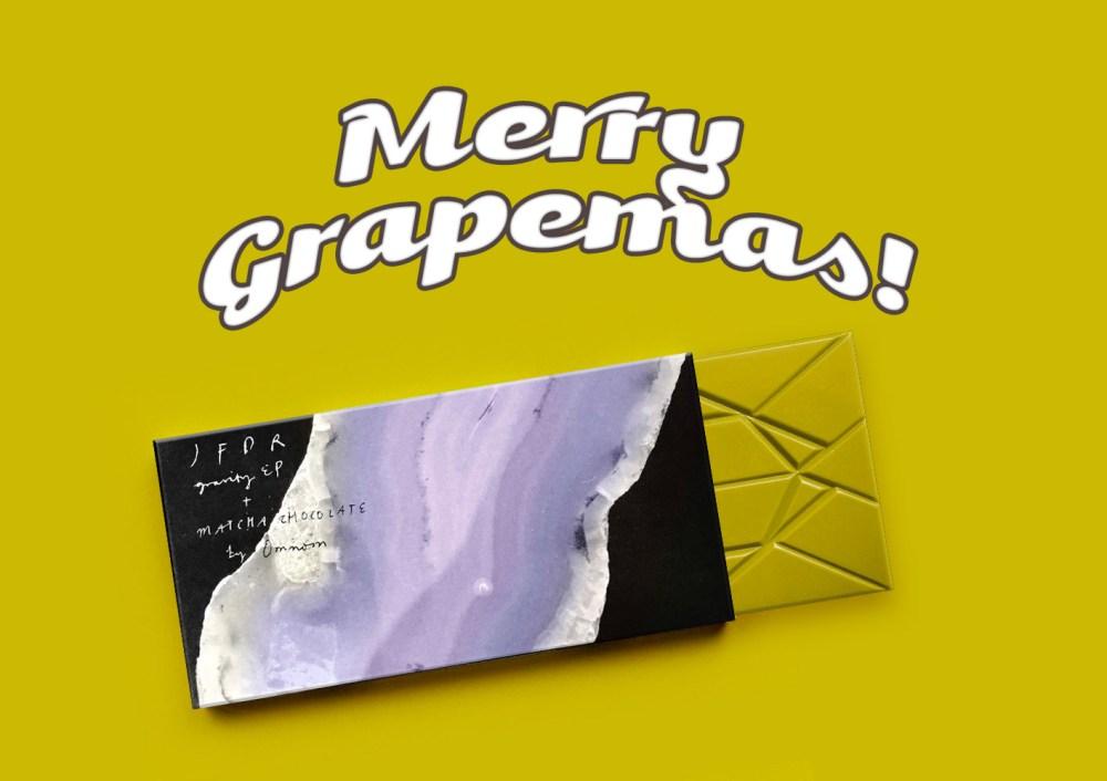 13 Days Of Grapemas: JFDR x Omnom Matcha Chocolate EP
