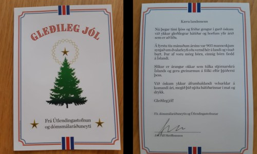 VIDEO: Satirical Christmas Card (Not Actually) From Immigration Directorate Mailed Out