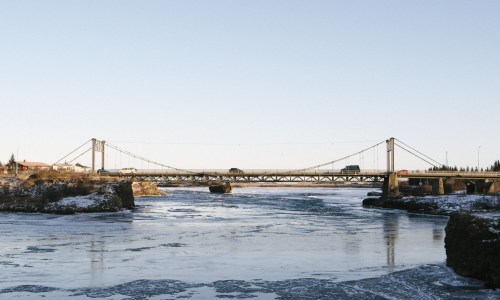 Over The River: A Taste Of Winter In Selfoss