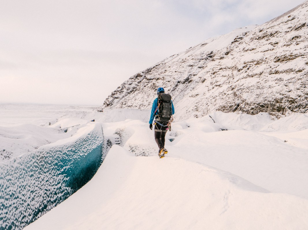 Life In Pictures: A Glacier Hike On Skaftafellsjökull