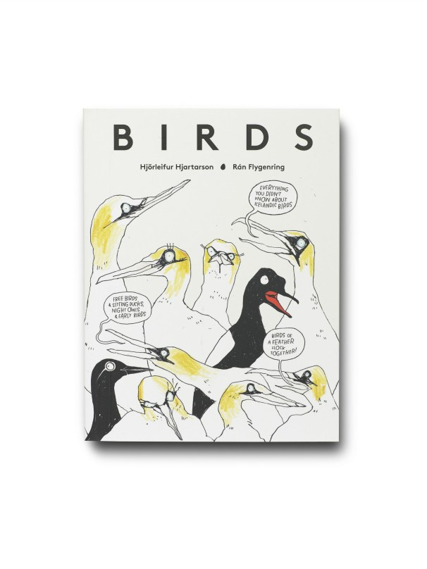 The front cover of the translated book BIRDS