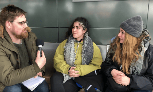 VIDEO: Stranded WOW Air Passengers At Keflavík Airport Speak Out