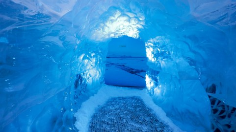 Ice Cave at the Wonders of Iceland museum