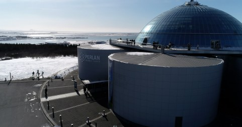 Perlan, the home of the Wonders of Iceland museum