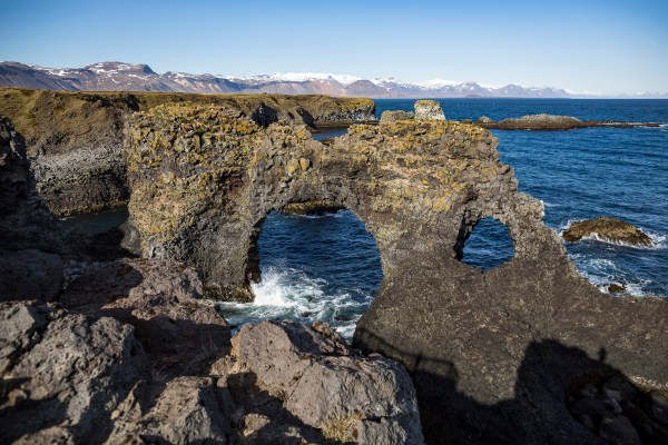 """runner up of the """"Best hike"""" in west iceland"""