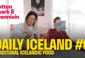 Food Of Iceland: Shark and Brennivín