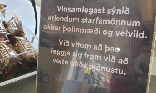 "Icelanders Asked To Show Foreign Workers ""Patience And Goodwill"""