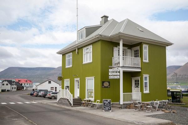 "Winner of the ""Best cafe"" in the westfjords award"