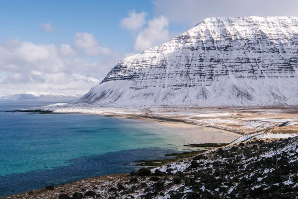 "Winner of the ""best road trip"" in the westfjords award"