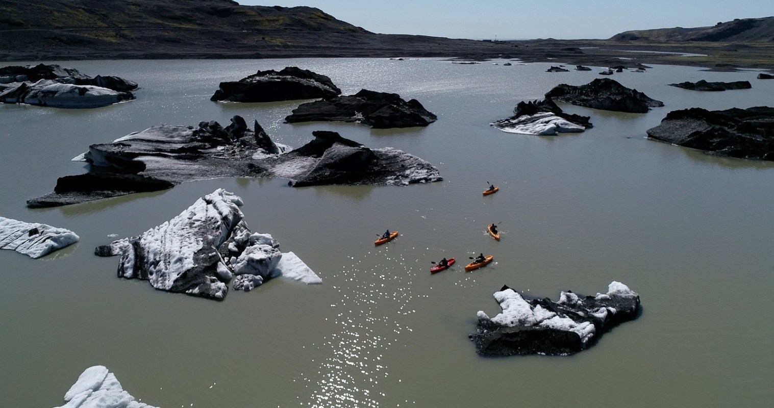 Floating Among The Jewels: Kayaking The Sparkling Waters Of Sólheimajökull