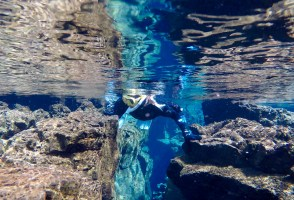 Fifty Shades Of Clear Blue: A Snorkel & Underwater Photos At The Silfra Fissure