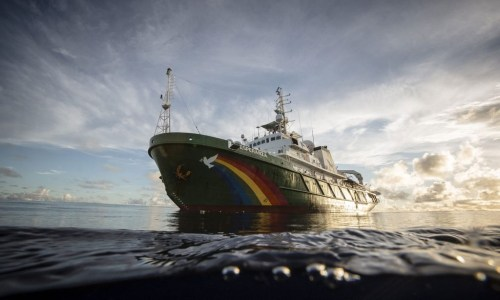 """Greenpeace In Iceland: """"We Shouldn't Have Hope—We Should Have Action"""""""