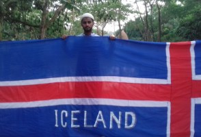 Iceland Football Supporter To Visit Iceland For First Time After Crowdfund