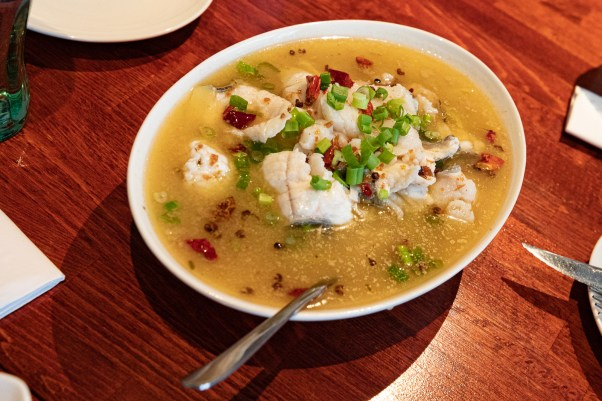 Chinese fish soup