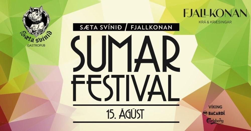 Happening Tonight: Fjallkonan & Sæta Svínið Summer Festival