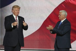 "Pence Visits From Land Of ""You're Fired"" And I.C.E."