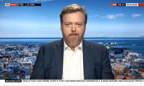 "Iceland's Former PM Suggests UK Join EEA ""Temporarily"" To Avoid No-Deal Brexit Crisis"