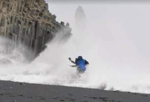 Yet Another Group Of Tourists Learn The Hard Way What Reynisfjara Is About