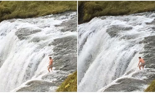 How Not To Approach A Waterfall