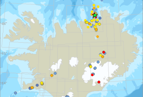 Hundreds Of Tremors Recorded In Northeast Iceland So Far
