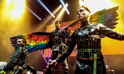 Hatari Opens Their Rainbow Wings In Russia