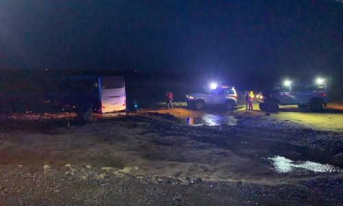 Severe Weather Causes Bus Accident in The South