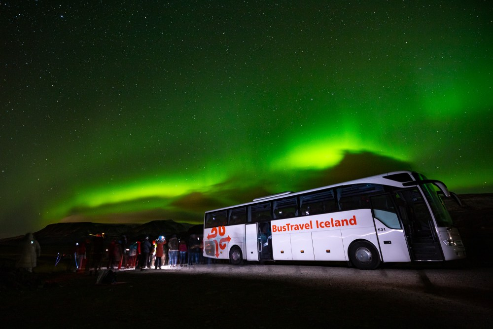 Lights In The Sky: BusTravel Iceland's Northern Lights Tour