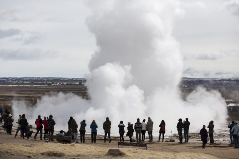 Geysir. Photo by Art Bicnick.