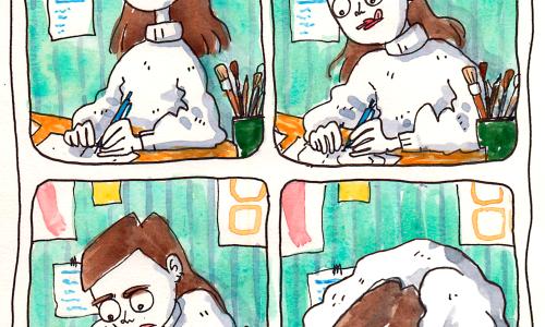 Comic By Elín Elísabet