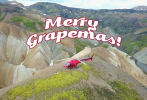 13 Days Of Grapemas: Heli Happy Hour