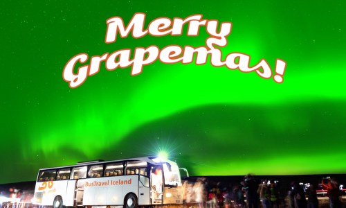 13 Days Of Grapemas: Northern Lights Tour With Bustravel Iceland