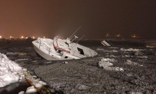 Three Avalanches Strike In A Single Night; One Rescued, Multiple Boats Damaged