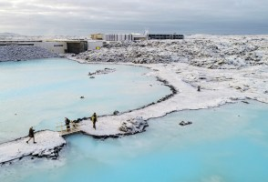 Natural Skincare And Relaxation in the Blue Lagoon