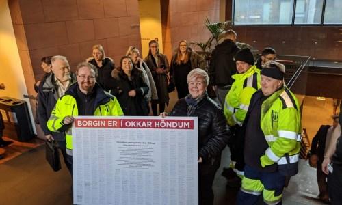 Majority Of Reykjavik City Workers Vote In Favour Of Strikes