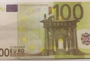"""Counterfeit"" Euros Actually Play Money Being Passed Off As Real"