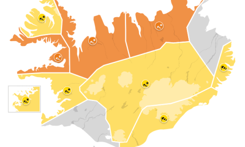 Storm Continues, North Iceland Upgraded To Orange Warning