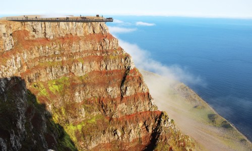 Bolafjall Cliff Edge Viewing Platform Receives Huge Investment