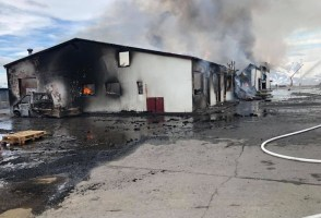 Fire On Hrísey Brought Under Control