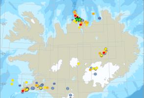 More Earthquakes Felt In Eyjafjörður